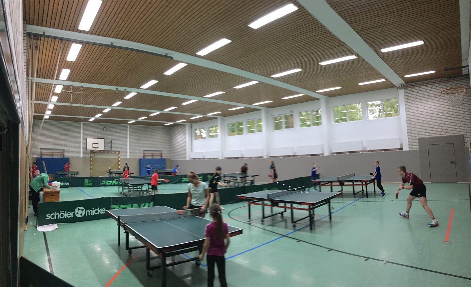 TSV Hachmühlen Slider Tischtennis