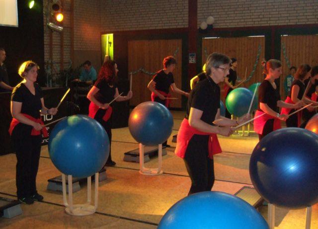 Auftritt der Fitgym-Gruppe am 14.7.2012