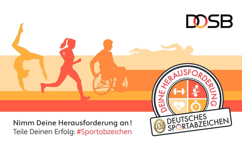 Plakat Dt. Sportabzeichen