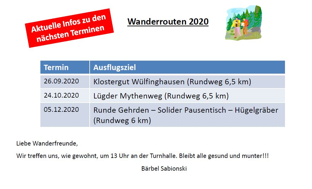 2020_10_Update Wandern